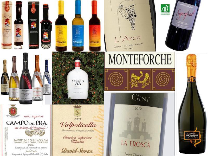 Petit marché des Saveurs du Sud de Jauche - Italie - Grèce - France :: vins, grappa, prosecco, vinaigres