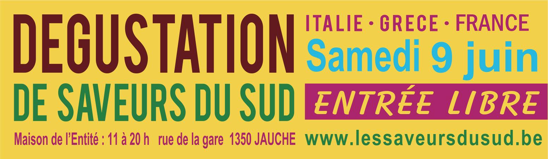 Dégustation Grappa, Prosecco & vins bio + produits fins grecs & italiens le samedi 9 juin de 11h à 20h à Jauche